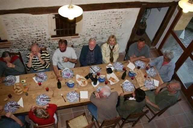 Repas Ferme des Bruyères Vitry